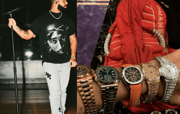 Drake montre une partie de sa collection de montres sur Instagram (Photo)