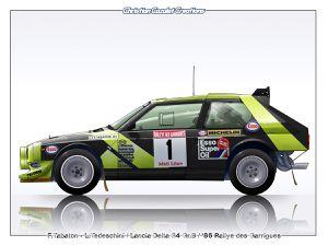 Profils Rallycars LANCIA