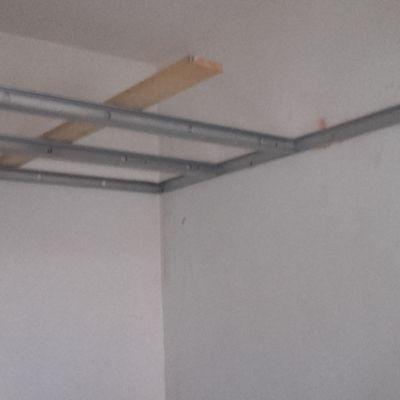 preparation abaissement plafond salon de 3m a 2,5m