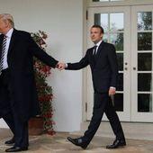 Pour Trump, ce que touche Macron «devient de la merde», selon le livre de Bolton