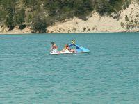 TF1 en repostage au lac de Castillon à St André les Alpes