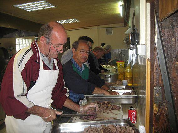 Pêche sociétaire avec repas