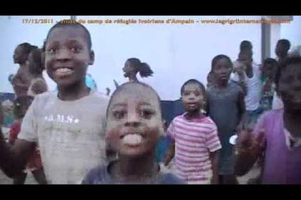 Ivorian refugees in Ghana keep on lovin' Gbagbo (1)