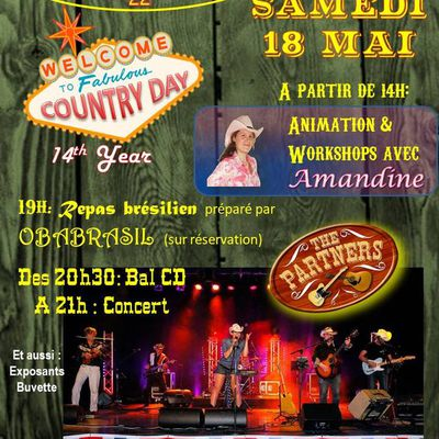 Country Day 19 - Le programme de demain !