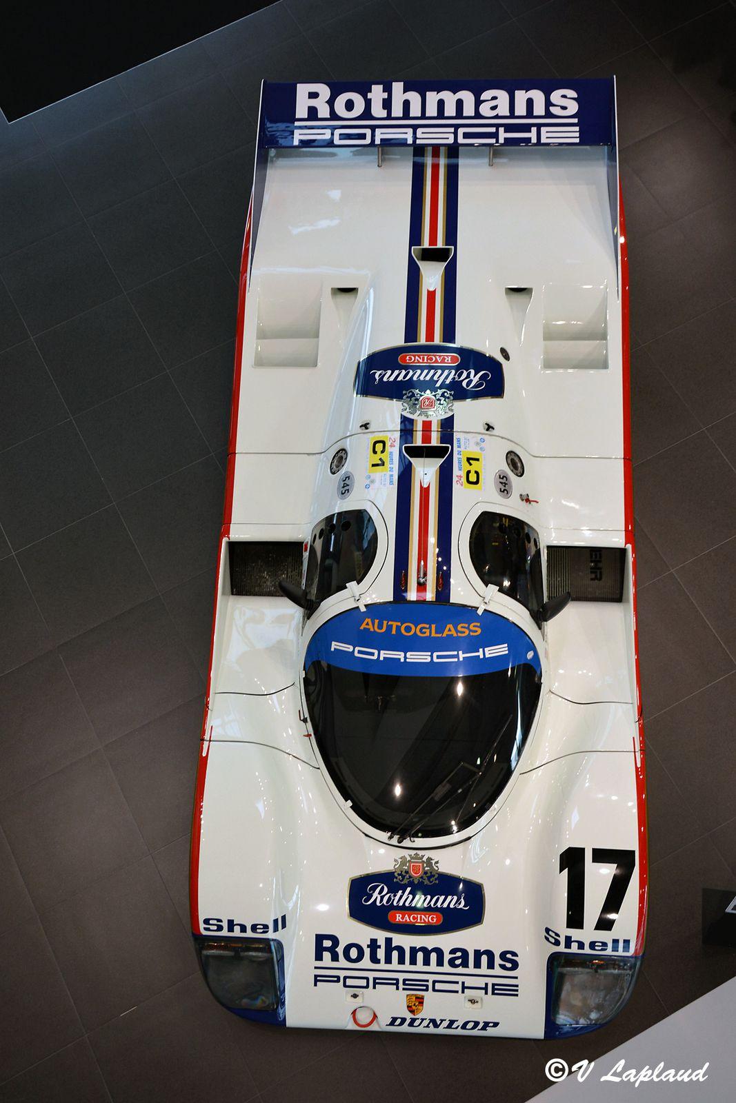 Porsche 962C-006, Porsche Experience Center Du Mans 2020.