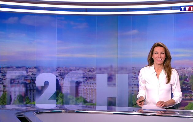 📸23 ANNE-CLAIRE COUDRAY @ACCoudray @TF1 @TF1LeJT pour LE 20H WEEK-END #vuesalatele