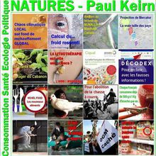 Natures Paul Keirn - Best of Janvier 2018 - NATURES, SCIENCE & TRADITIONS, CONSOMMATION & SANTÉ
