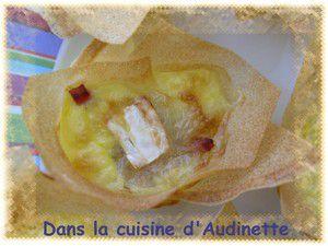 Ballotins au camembert et jambon