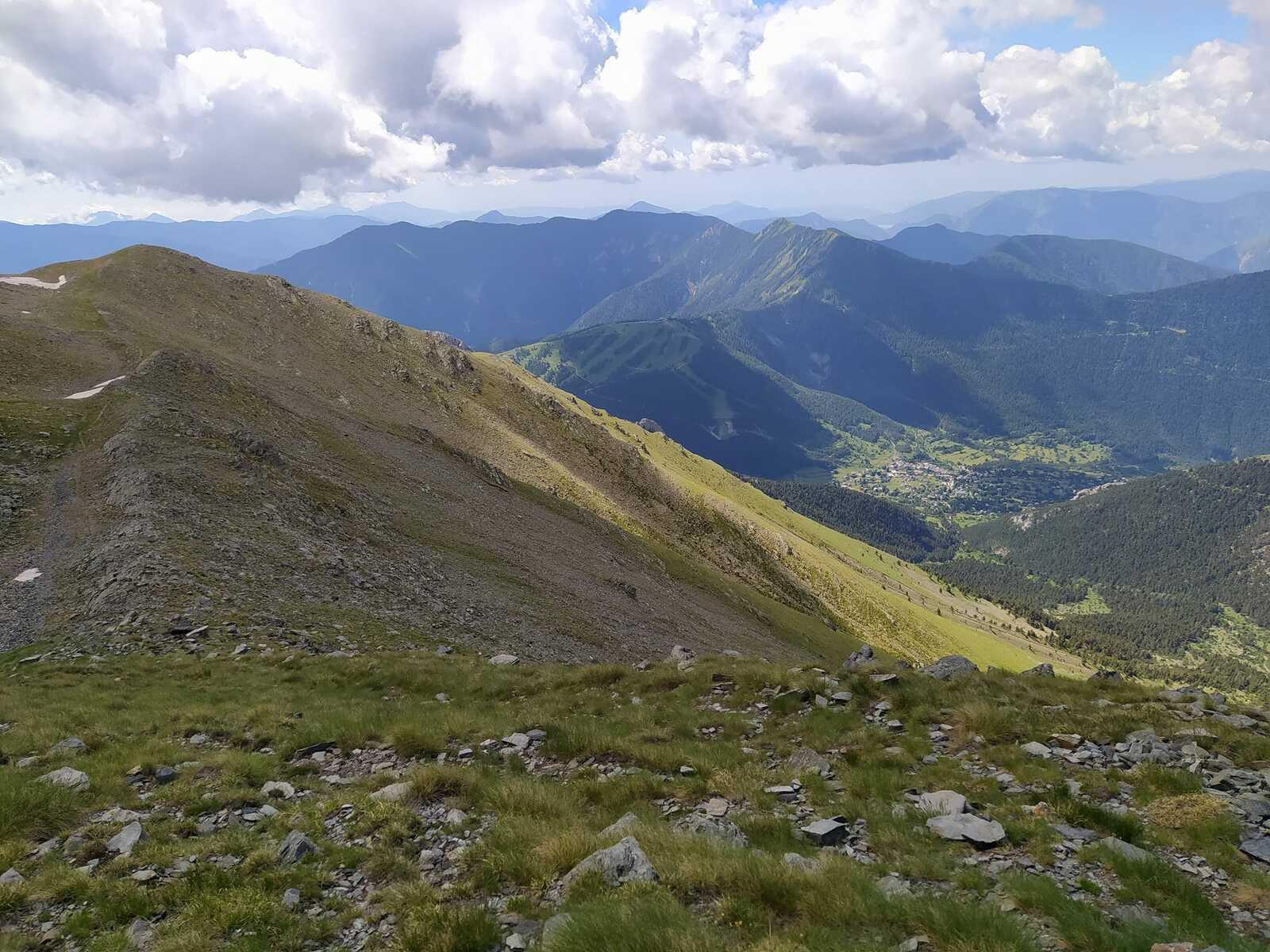 Mont Pépoiri (2674m), Mont Pétoumier (2604m), Tête du Brec (2566m), Baus de la Frema (2246m)