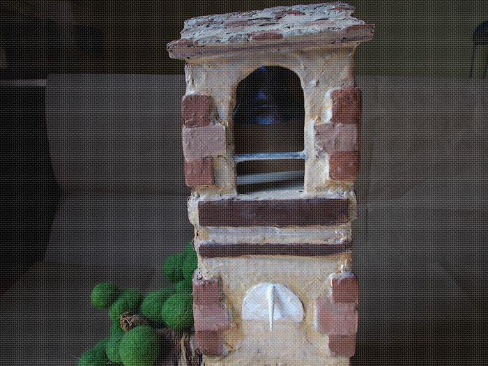 Créchisme - Le campanile ...