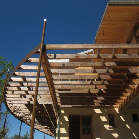 maison ossature bois: maison à basse consommation