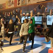 La semaine du yoga dans l'Education