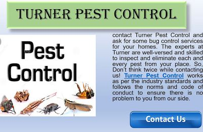 Turner Pest Control services ensure a healthy environment