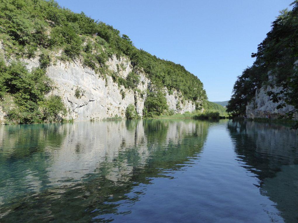 Plitvička Jezera - Croatie été 2015.