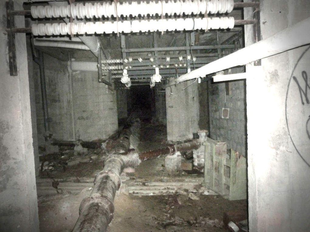 Reportage photo du Sanatorium d'Aincourt.