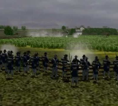 vidéo de WAR 3DII gettysburg