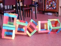 Classe CE2-CM : Assemblages en 3D / les cubes