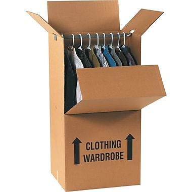 How to put together a wardrobe box