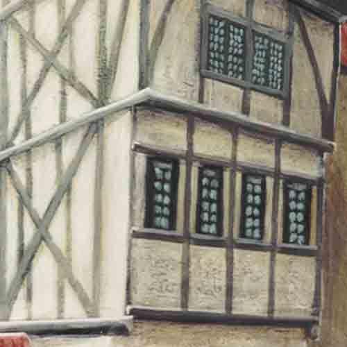 Détails de diverses oeuvres peintes, sculptées ou gravées en vrac et pour un aperçu rapide et varié.