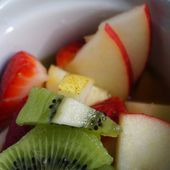 Salade de fruits au jus d'orange WW -