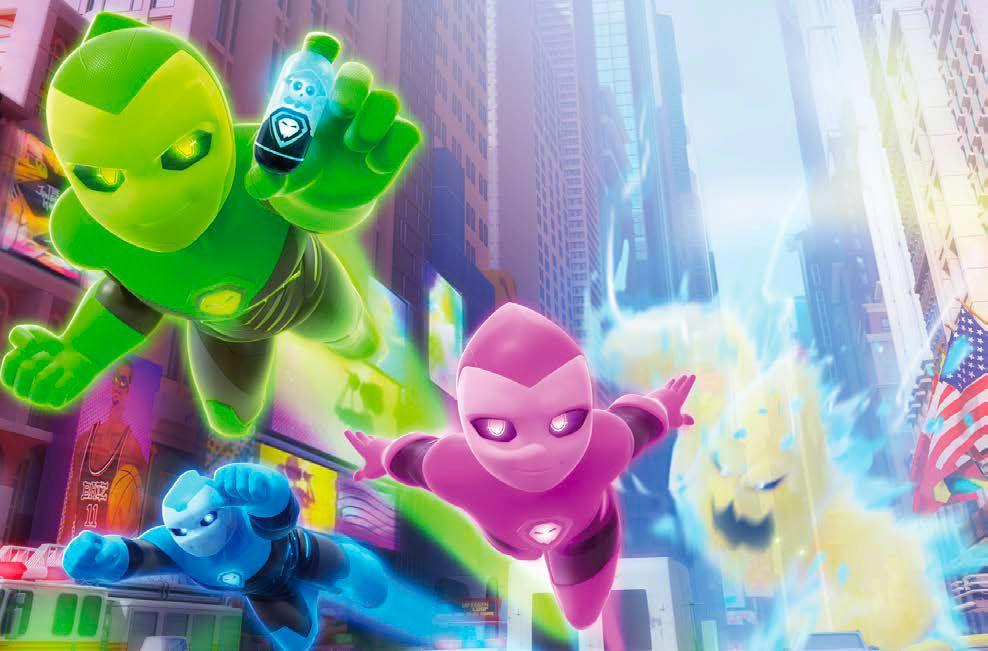 """""""Ghostforce"""", nouvelle série d'animation  à découvrir prochainement dans TFOU sur TF1"""