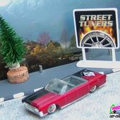 LINCOLN CONTINENTAL CONVERTIBLE 1964 HOT WHEELS 1/64 - car-collector.net