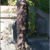 Monument,puits et fontaine à Agnat - L'Auvergne Vue par Papou Poustache