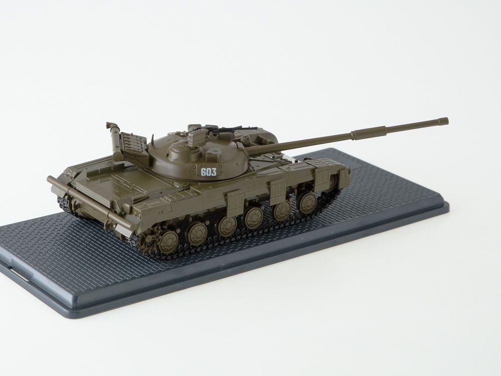 Diaporama : Char T-64B au 1/43 de chez Start Scale Models (SSM3031)