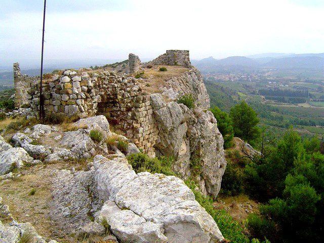 Diaporama château de Montseret