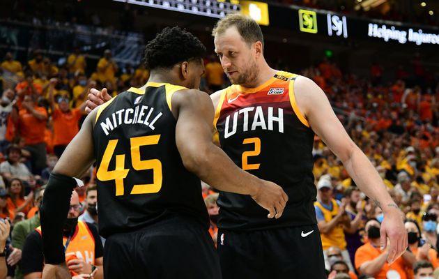 Donovan Mitchell mène l'Utah Jazz face aux Clippers (1-0)