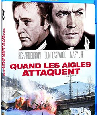 Quand Les Aigles Attaques (Where Eagles Dare, 1968, 2h38) de Brian G. Hutton
