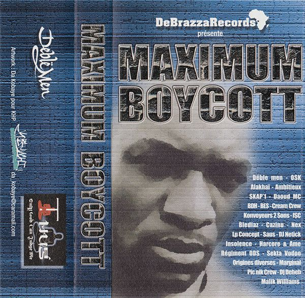 mixtape Maximum boycott - De brazza record - le rap c'était mieux avant