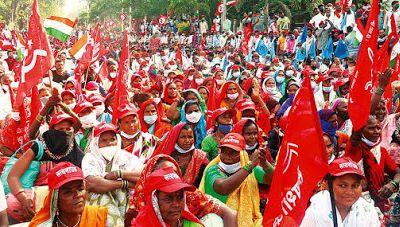 Les communistes indiens soutiennent la lutte des agriculteurs