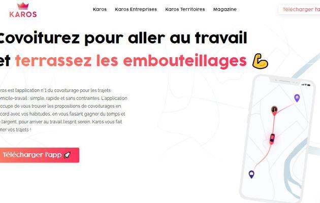 Start-up : Karos, spécialiste du covoiturage lève 7 millions d'euros