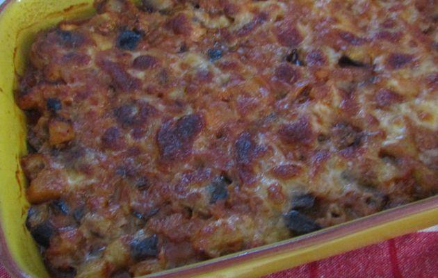 🍆Un gratin d'aubergine au thon🍆