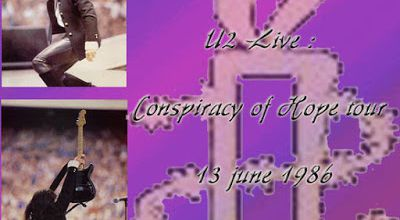 U2 -Conspiracy Of Hope -13/06/1986 -Chicago -Etats-Unis -Rosemount Horizon