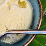 Crème Glacée à la Feuille de Figuier