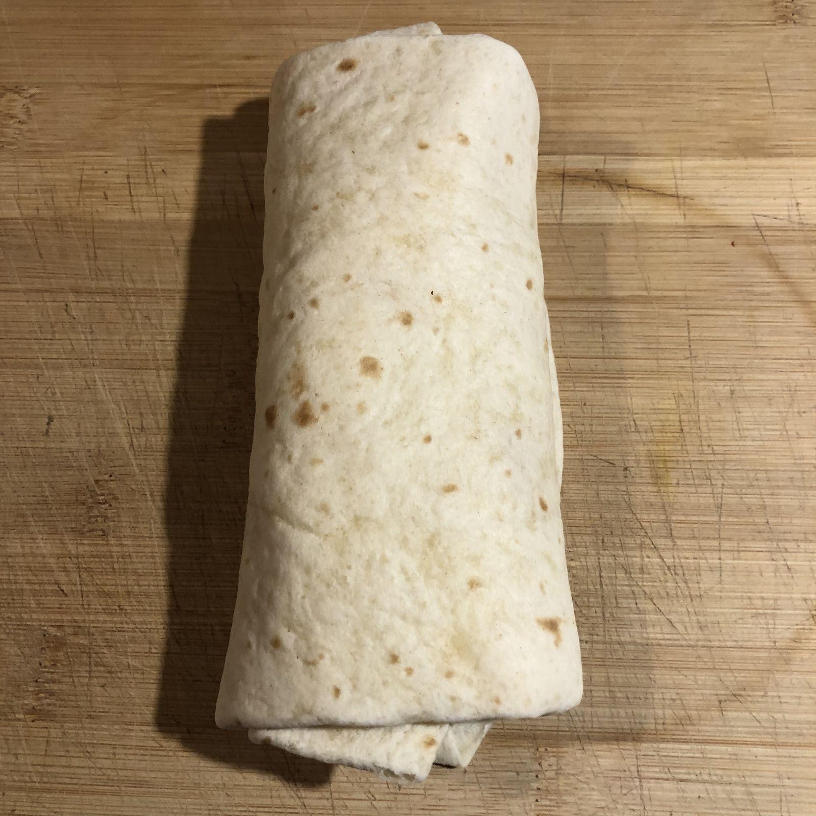 Wrap façon tacos jambon etc ...