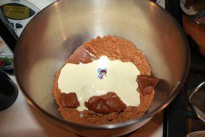 Bouchées au spéculoos et chocolat blanc sans cuisson