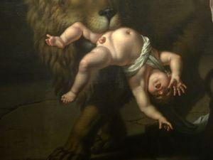 Nicolas André Monsiau - Le Lion de Florence - 1801 - Huile sur toile