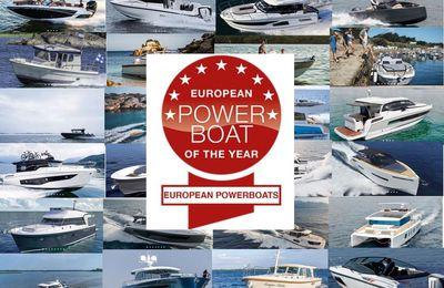 European Powerboat of the Year 2019 - les 5 bateaux familiaux à moteur de 25 à 35 pieds nominés
