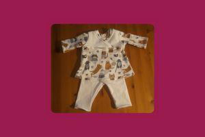 Tunique et Legging pour poupée