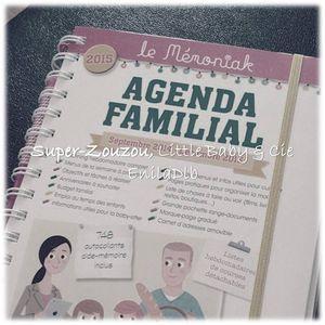 Le choix de l'agenda pour faciliter la vie de famille…