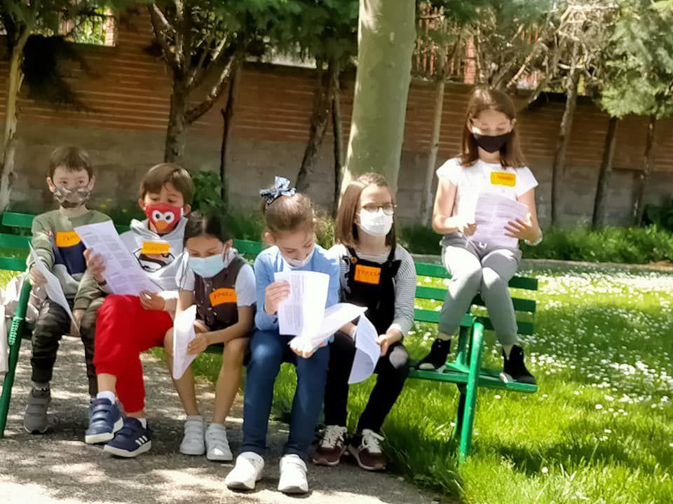Encuentro de niños de 2º de Comunión