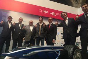 Esteban Gutierrez va disputer plusieurs courses en Formule E