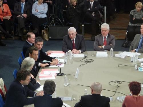 27 janvier 2009 : Visite du Président Sarkozy à Châteauroux
