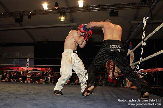 Boxe in défi XIII Tournoi des -86Kg Mickael LOPEZ vs Vincent PETITJEAN