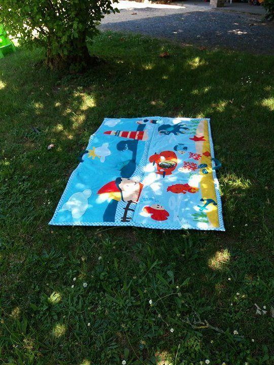 Notre tapis d'activité Géant Océan de chez Baby to Love