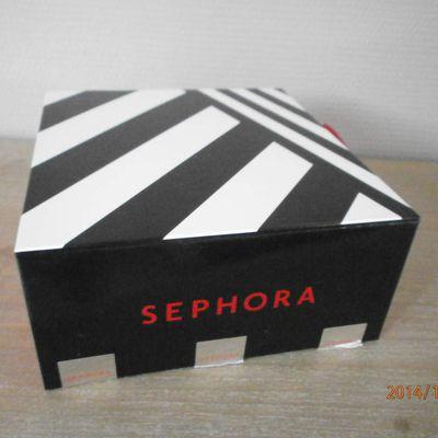 Ma Séphora box de novembre 2014