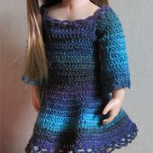 Passion Poupées: Une robe pour Olivia
